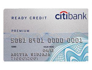 สมัครบัตรกดเงินสดซิตี้แบงก์ Ready Credit Citibank