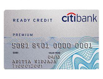 Citibank – บัตรกดเงินสดเรดดี้เครดิต ซิตี้แบงก์